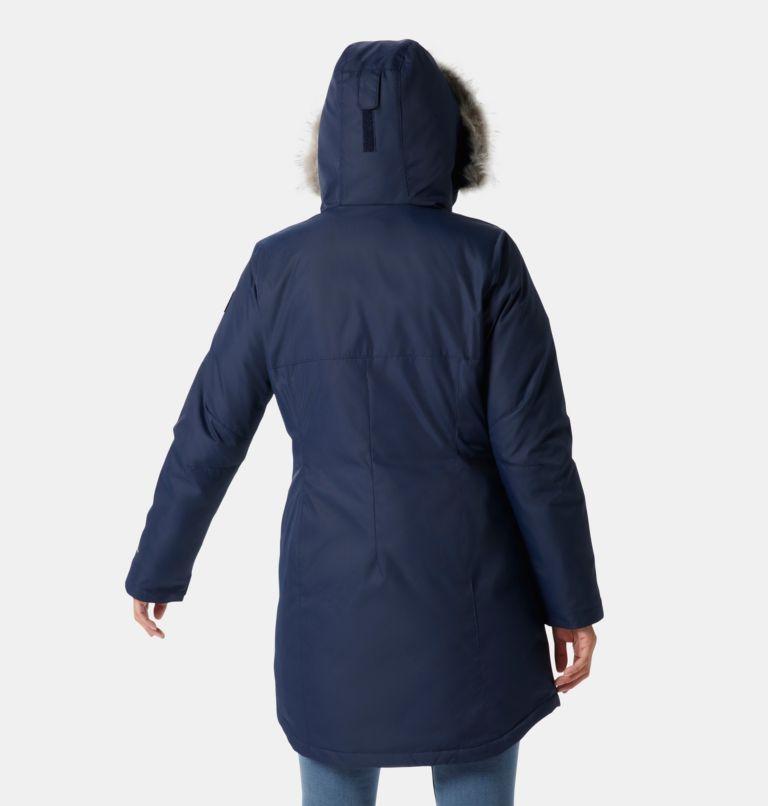 Suttle Mountain™ Long Insulated Jacket   472   L Women's Suttle Mountain™ Long Insulated Jacket, Dark Nocturnal, back