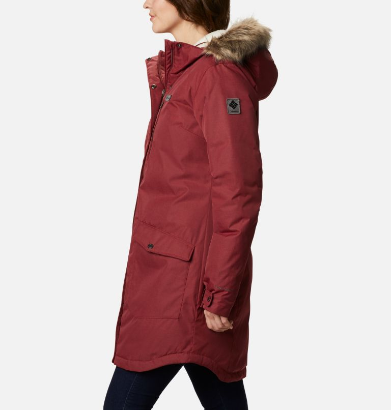 Suttle Mountain™ Long Insulated Jacket | 619 | S Women's Suttle Mountain™ Long Insulated Jacket, Marsala Red, a1