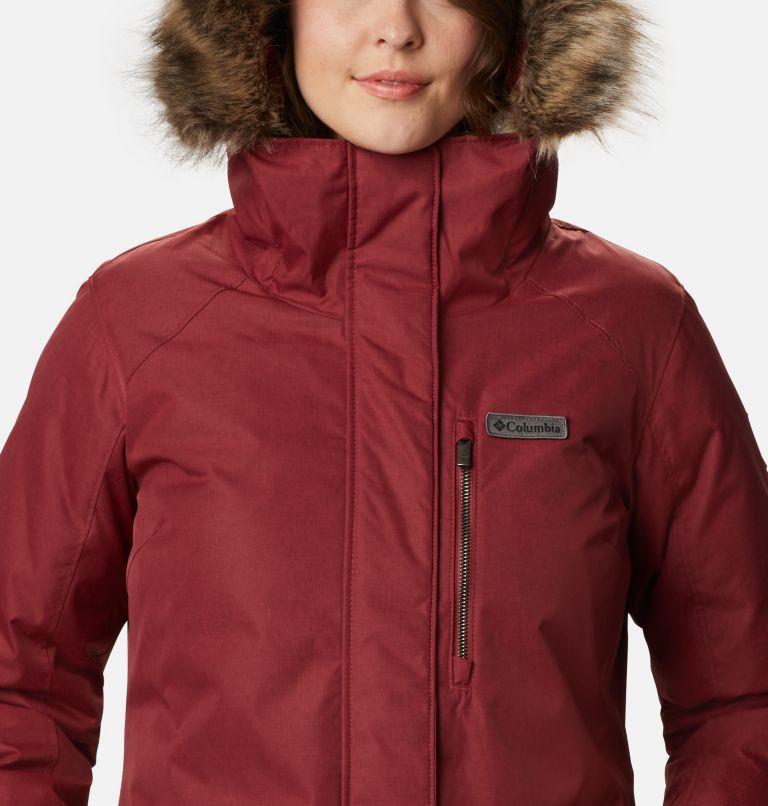 Suttle Mountain™ Long Insulated Jacket | 619 | XL Women's Suttle Mountain™ Long Insulated Jacket, Marsala Red, a2