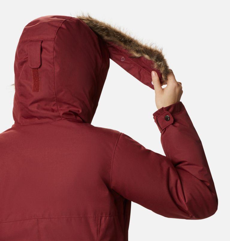 Suttle Mountain™ Long Insulated Jacket | 619 | XL Women's Suttle Mountain™ Long Insulated Jacket, Marsala Red, a4