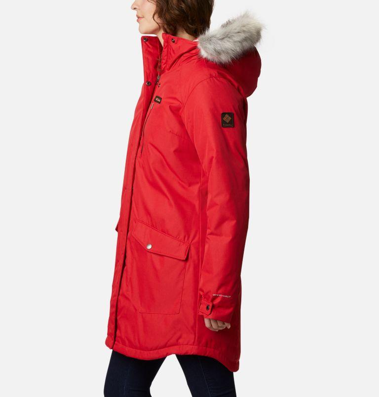 Suttle Mountain™ Long Insulated Jacket | 658 | XL Women's Suttle Mountain™ Long Insulated Jacket, Red Lily, a1