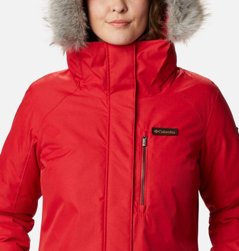 Suttle Mountain™ Long Insulated Jacket | 658 | XL Women's Suttle Mountain™ Long Insulated Jacket, Red Lily, a2