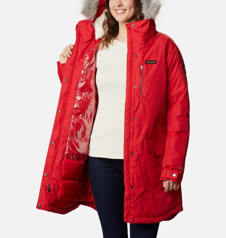 Suttle Mountain™ Long Insulated Jacket | 658 | XL Women's Suttle Mountain™ Long Insulated Jacket, Red Lily, a3