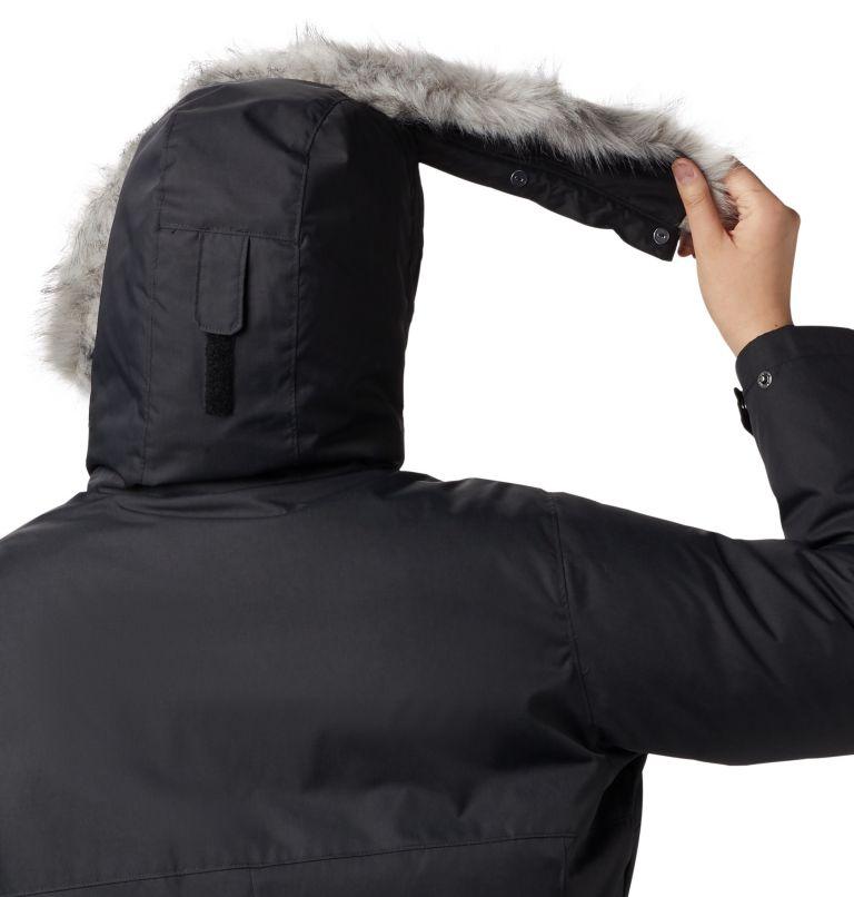 Suttle Mountain™ Long Insulated Jacket | 010 | 3X Women's Suttle Mountain™ Long Insulated Jacket - Plus Size, Black, a2