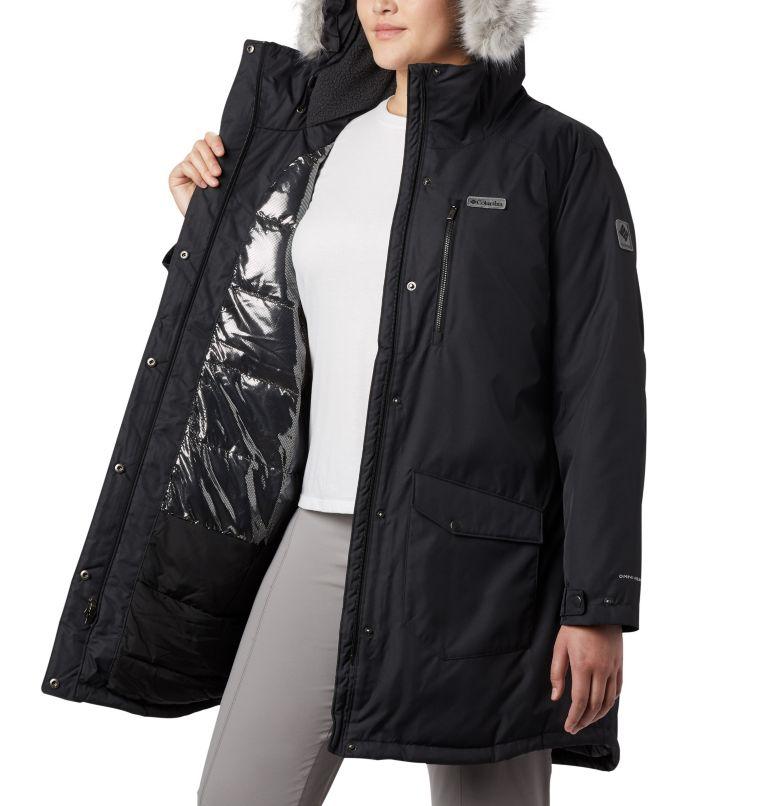 Suttle Mountain™ Long Insulated Jacket | 010 | 3X Women's Suttle Mountain™ Long Insulated Jacket - Plus Size, Black, a3