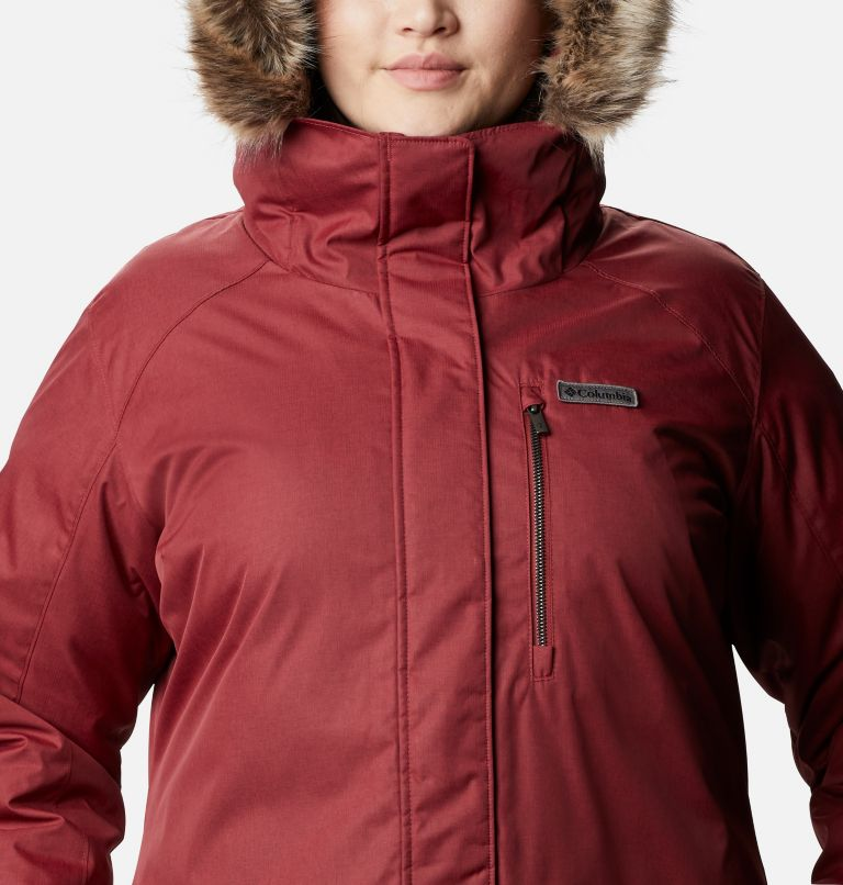 Women's Suttle Mountain™ Long Insulated Jacket - Plus Size Women's Suttle Mountain™ Long Insulated Jacket - Plus Size, a2