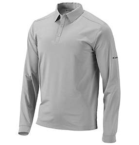 Men's Omni-Wick™ Pin High Long-Sleeve Polo