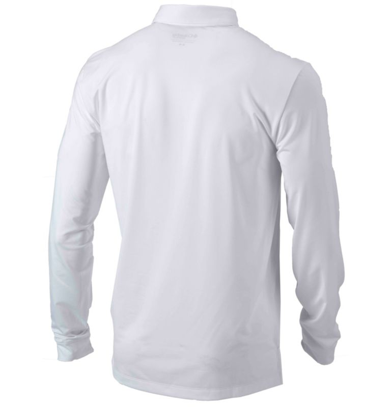 Men's Omni-Wick™ Pin High Long-Sleeve Polo Men's Omni-Wick™ Pin High Long-Sleeve Polo, back