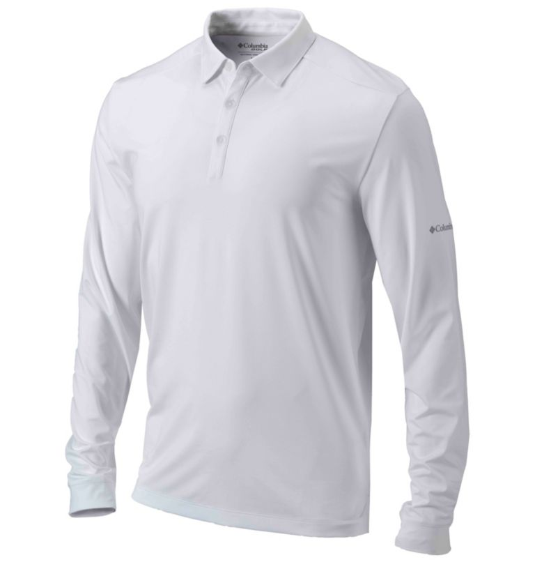 Men's Omni-Wick™ Pin High Long-Sleeve Polo Men's Omni-Wick™ Pin High Long-Sleeve Polo, front