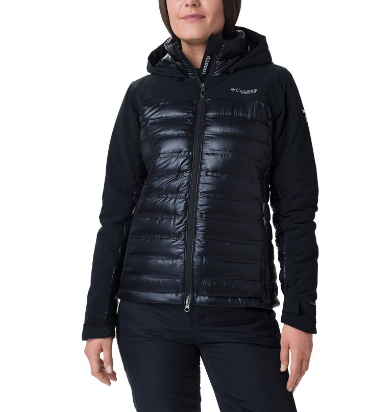 Heatzone™ 1000 TurboDown™ II J | 010 | M Women's Heatzone™ 1000 TurboDown™ II Jacket, Black, front