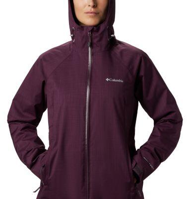Women S Top Pine Insulated Rain Jacket