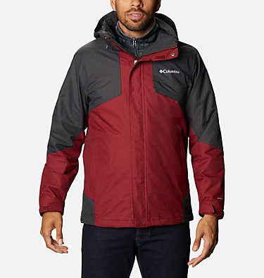 Men's Bugaboo™ II Fleece Interchange Jacket Bugaboo™ II Fleece Interchange Jacket | 432 | L, Red Jasper, Shark, front