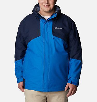 Men's Bugaboo™ II Fleece Interchange Jacket - Big Bugaboo™ II Fleece Interchange Jacket | 432 | 3X, Bright Indigo, Collegiate Navy, front