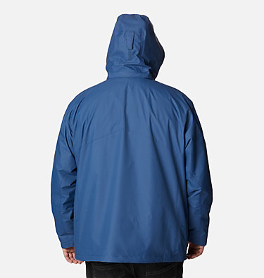 Men's Bugaboo™ II Fleece Interchange Jacket - Big Bugaboo™ II Fleece Interchange Jacket | 452 | 1X, Night Tide, back