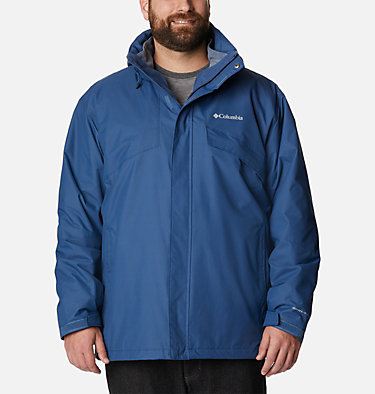 Men's Bugaboo™ II Fleece Interchange Jacket - Big Bugaboo™ II Fleece Interchange Jacket | 432 | 3X, Night Tide, front