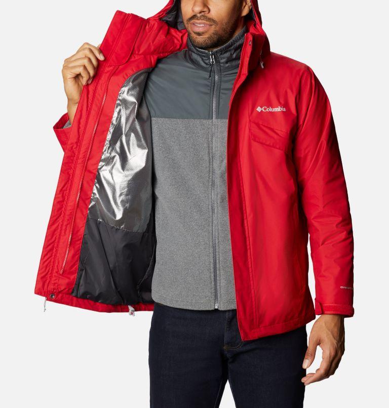 Bugaboo™ II Fleece Interchange Jacket | 615 | 3X Manteau Interchange en laine polaire Bugaboo II pour homme - Tailles fortes, Mountain Red, a3