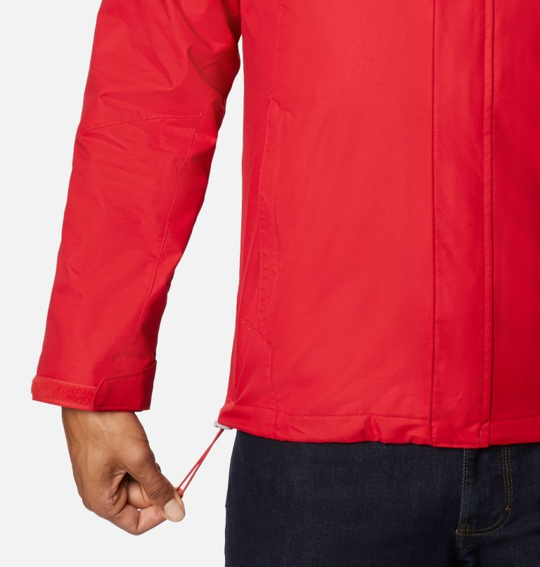 Bugaboo™ II Fleece Interchange Jacket | 615 | 3X Manteau Interchange en laine polaire Bugaboo II pour homme - Tailles fortes, Mountain Red, a4