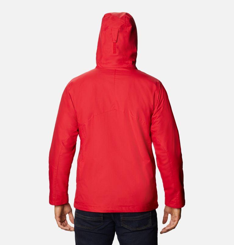 Bugaboo™ II Fleece Interchange Jacket | 615 | 3X Manteau Interchange en laine polaire Bugaboo II pour homme - Tailles fortes, Mountain Red, back