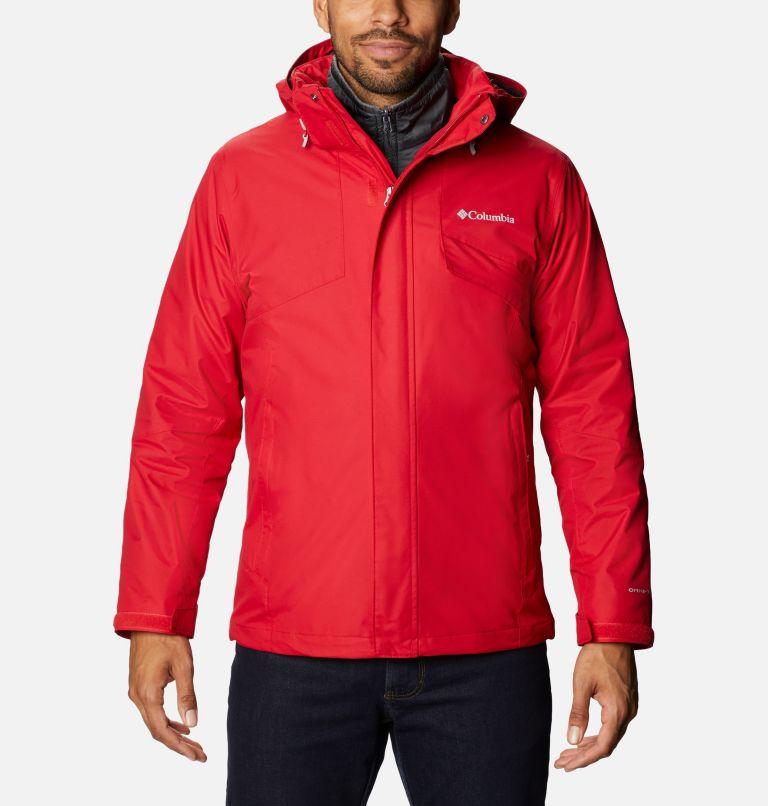 Bugaboo™ II Fleece Interchange Jacket | 615 | 3X Manteau Interchange en laine polaire Bugaboo II pour homme - Tailles fortes, Mountain Red, front
