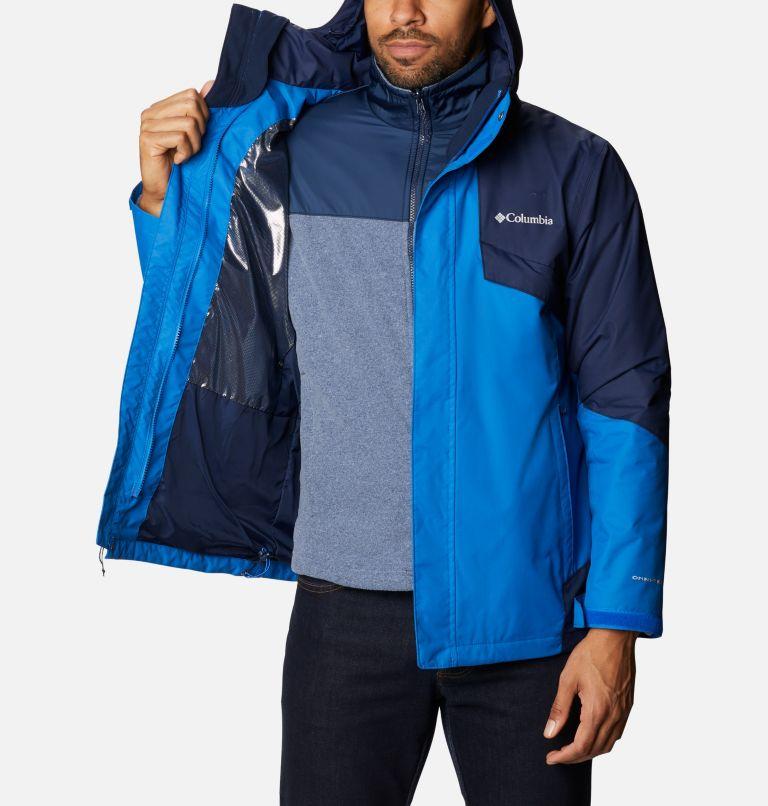 Bugaboo™ II Fleece Interchange Jacket | 432 | 3XT Men's Bugaboo™ II Fleece Interchange Jacket - Tall, Bright Indigo, Collegiate Navy, a3