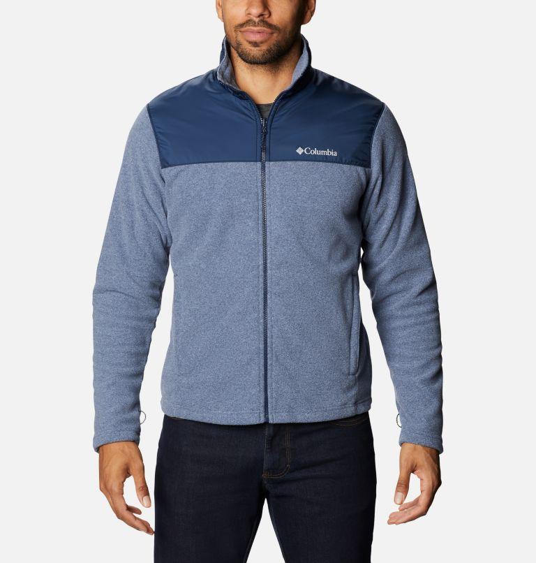 Bugaboo™ II Fleece Interchange Jacket | 432 | 3XT Men's Bugaboo™ II Fleece Interchange Jacket - Tall, Bright Indigo, Collegiate Navy, a7