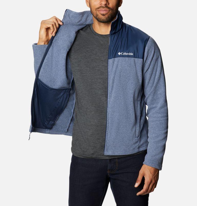 Bugaboo™ II Fleece Interchange Jacket | 432 | 3XT Men's Bugaboo™ II Fleece Interchange Jacket - Tall, Bright Indigo, Collegiate Navy, a9