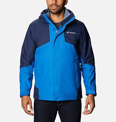 Men's Bugaboo™ II Fleece Interchange Jacket - Tall Bugaboo™ II Fleece Interchange Jacket | 012 | 2XT, Bright Indigo, Collegiate Navy, front