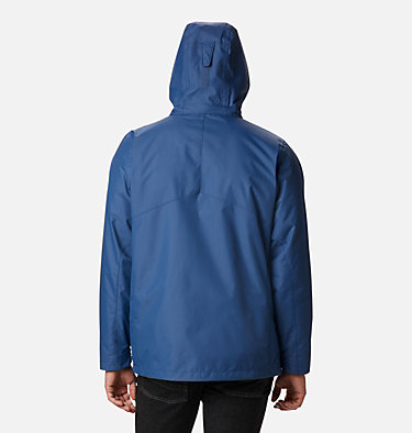 Men's Bugaboo™ II Fleece Interchange Jacket - Tall Bugaboo™ II Fleece Interchange Jacket | 615 | 3XT, Night Tide, back