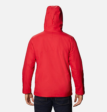 Men's Bugaboo™ II Fleece Interchange Jacket - Tall Bugaboo™ II Fleece Interchange Jacket | 615 | 3XT, Mountain Red, back
