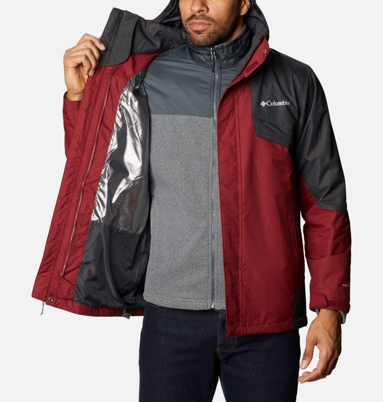 Bugaboo™ II Fleece Interchange Jacket   664   4XT Men's Bugaboo™ II Fleece Interchange Jacket - Tall, Red Jasper, Shark, a3