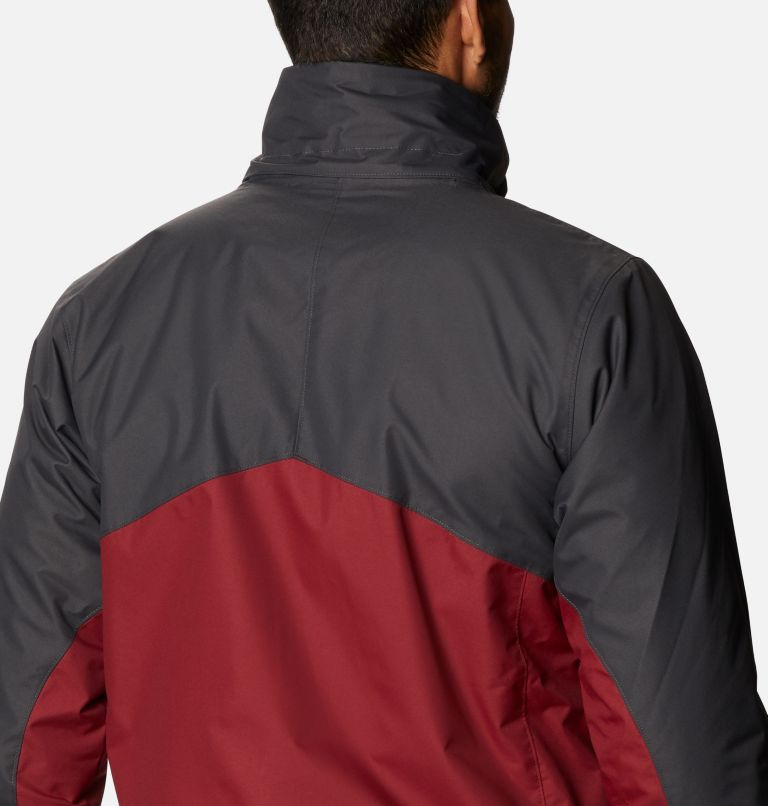 Bugaboo™ II Fleece Interchange Jacket   664   4XT Men's Bugaboo™ II Fleece Interchange Jacket - Tall, Red Jasper, Shark, a6