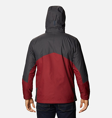 Men's Bugaboo™ II Fleece Interchange Jacket - Tall Bugaboo™ II Fleece Interchange Jacket | 012 | 2XT, Red Jasper, Shark, back