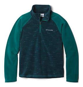 Boys' Glacial™ III Printed Fleece 1/4 Zip Pullover
