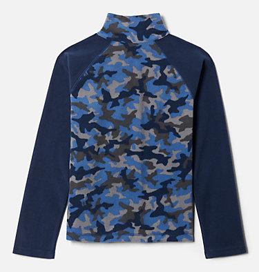 Boys' Glacial™III Printed Fleece 1/4 Zip Pullover Glacial™III Fleece Printed Half Zip | 012 | L, Night Tide Trad Camo (A), Coll Navy, back