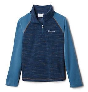 Boys' Glacial™III Printed Fleece 1/4 Zip Pullover