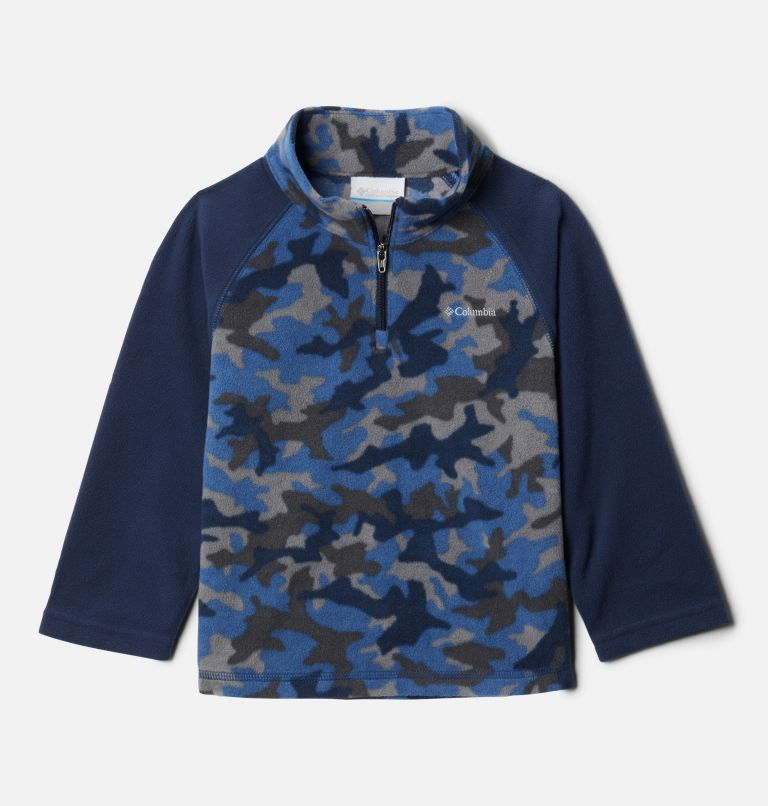 Boys' Toddler Glacial™ III Printed Fleece 1/4 Zip Pullover Boys' Toddler Glacial™III Printed Fleece 1/4 Zip Pullover, front
