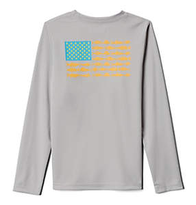 Boys' PFG Reel Adventure™ Long Sleeve Shirt