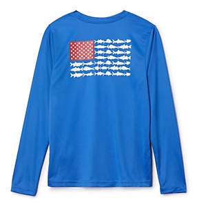 Boys' PFG Reel Adventure™ Long Sleeve Shirt