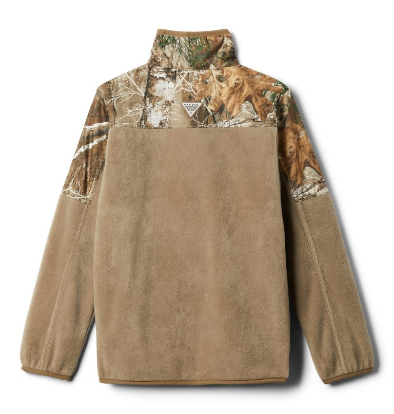 Boys' PHG™ Overlay 1/4 Zip Fleece Pullover Boys' PHG™ Overlay 1/4 Zip Fleece Pullover, back