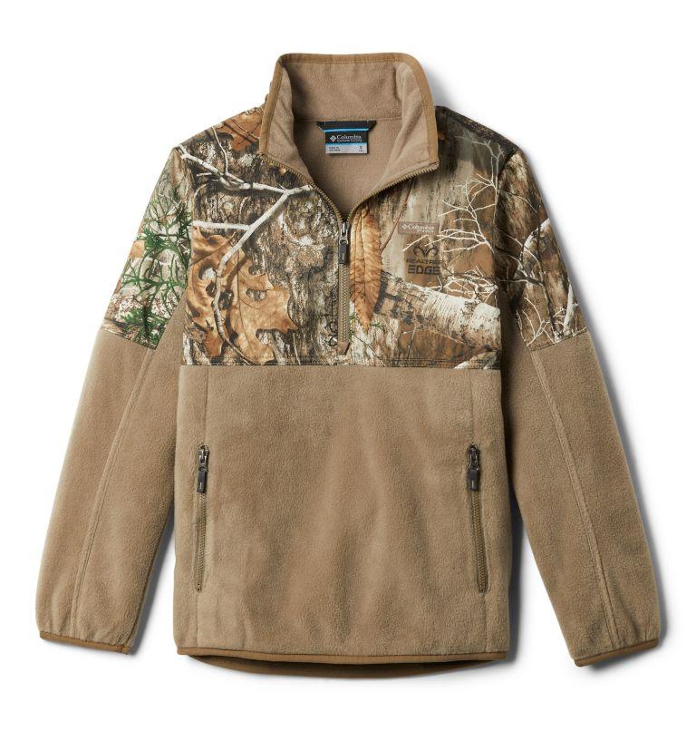 Boys' PHG™ Overlay 1/4 Zip Fleece Pullover Boys' PHG™ Overlay 1/4 Zip Fleece Pullover, front