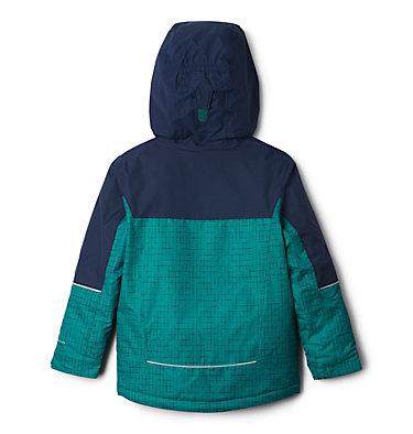 Boys' Mighty Mogul™ Jacket Mighty Mogul™ Jacket | 363 | L, Pine Green Check, Collegiate Navy, back
