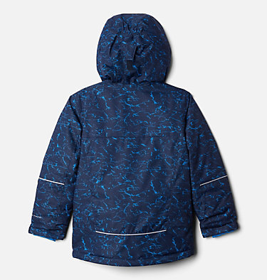 Boys' Mighty Mogul™ Jacket Mighty Mogul™ Jacket | 023 | M, Collegiate Navy Crackle Print, back