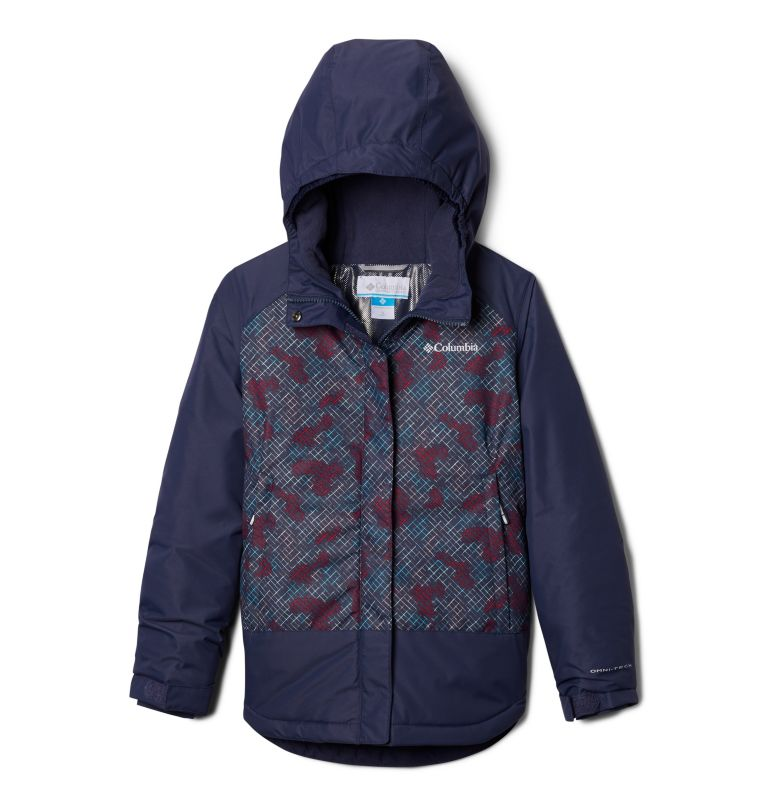 Mighty Mogul™ Jacket | 446 | M Girls' Mighty Mogul™ Jacket, Nocturnal Diagonal Check, Nocturnal, front