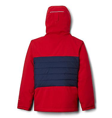 Boys' Wild Child™ Ski Jacket Wild Child™Jacket | 439 | L, Mountain Red, Collegiate Navy, back