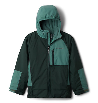 Manteau Snow Problem™ pour garçon Snow Problem™Jacket | 386 | L, Spruce, Thyme Green, front