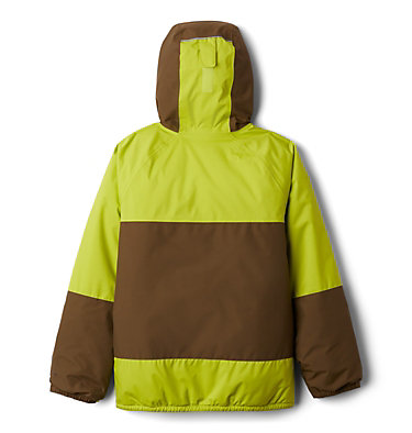 Manteau Snow Problem™ pour garçon Snow Problem™Jacket | 386 | L, Bright Chartreuse, New Olive, back
