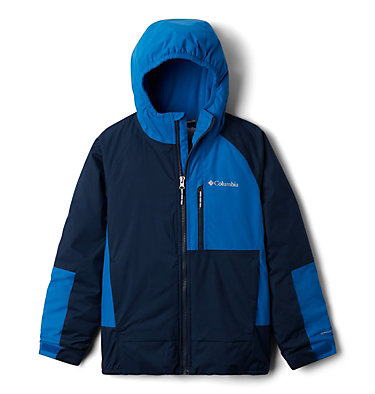 Boys' Snow Problem™ Jacket Snow Problem™Jacket | 386 | L, Collegiate Navy, Bright Indigo, front