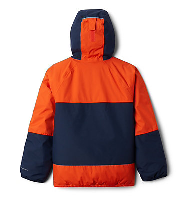 Boys' Snow Problem™ Jacket Snow Problem™Jacket | 386 | L, Tangy Orange, Collegiate Navy, back