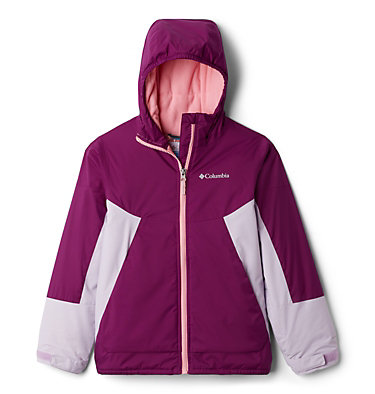 Manteau Snow Problem™ pour fille Snow Problem™ Jacket | 462 | L, Plum, Pale Lilac, front