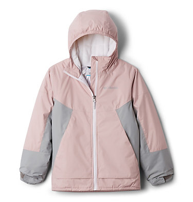 Manteau Snow Problem™ pour fille Snow Problem™ Jacket | 462 | L, Mineral Pink, Columbia Grey, front